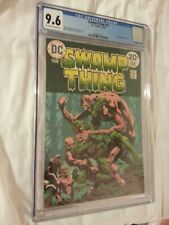 Swamp Thing 70's CGC graded set #1 8.0, #2 9.2, #4 9.4, #10-11 and #22-23 9.6