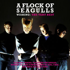 A Flock Of Seagulls Wishing: Best Of 2-CD NEW SEALED I Ran/Space Age Love Song+
