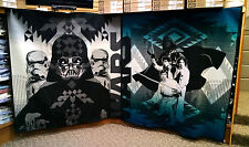 STAR WARS PENDLETON BLANKETS 4 PIECE LIMITED EDITION SET WOOL NEW RARE UNIQUE