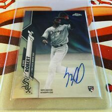🔥 LUIS ROBERT 🔥 2020 Topps Chrome REFRACTOR On Card RC AUTO #d 236/499 🔥