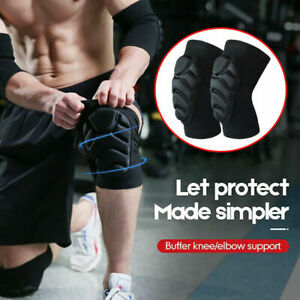 Thickened knees kneeling Protective Gear pads Anti-fall sports anti-collision UK
