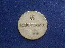 "6 Kreuzer 1849 B  Franz Josef  "" selten ""  W/17/1041"