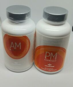 Jeunesse AM & PM Essentials 1 set (2 Bottles) Multivitamin EXP 09/22