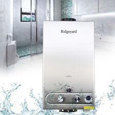 12L  LPG Propane Gas Warmwasserbereiter Durchlauferhitzer 24KW Edelstahl