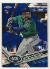 Mitch Haniger RC 2017 Topps Chrome Sapphire #433 Mariners Rookie Only 250 Made
