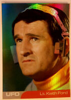 UFO - LIEUTENANT KEITH FORD - Mirror Foil Card F7 - Unstoppable Cards Ltd 2016