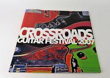 RARE CROSSROADS 2007 GUITAR FESTIVAL - CROSSROADS CENTRE ANTIGUA Tour Program