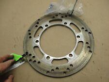2006 Kawasaki KLR 650 rear disc brake rotor