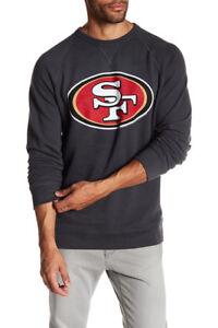 Junk Food Men's San Francisco 49ers Logo Sweatshirt  Save 40%!!  2XL XXL