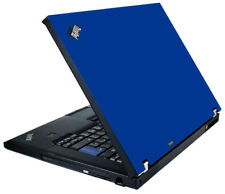 BLUE Vinyl Lid Skin Cover Decal fits IBM Lenovo ThinkPad T61 Laptop