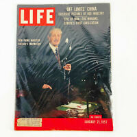 Life Magazine January 21 1957 Britain's New Prime Minister Harold Macmillan