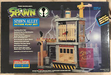 New listing 1994 New In Box Todd McFarlane's Spawn Alley Action Play Set Todd Toys