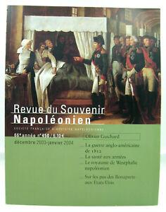 Revue du Souvenir Napoléonien - N° 450 - Décembre 2003 / Janvier 2004 - TTBE