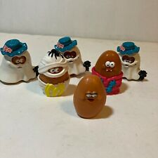 Vtg McDonald's Halloween Chicken Nuggets 90's Happy Meal Toys Lot of 6 1992 1995