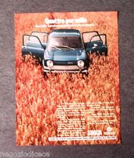 P193 - Advertising Pubblicità -1972- SIMCA 1000 , QUATTRO PER MILLE
