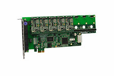OpenVox A800E50 8 Port Analog PCI-E Base card + 5 FXS + 0 FXO, Ethernet (RJ45)