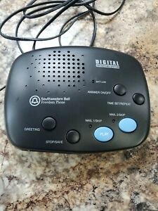 Southwestern Bell Freedom Phone Digital Answering Machine FA970 2 Mailboxes no c