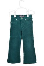 Levi's Girls Pants Corduroy 3T Teal Cotton