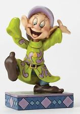 Disney Traditions Dopey Dance Seven Dwarfs Figurine Ornament 11cm 4049624