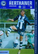 Programm 2004/05 Hertha BSC Berlin Am. - Holstein Kiel