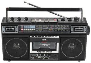 QFX J-220BT Bluetooth Portable Cassette Player Recorder Converter Boombox