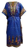 Womens Long Kaftan v-Neck Kimono Tunic Casual Dress one Size Free Size Dress