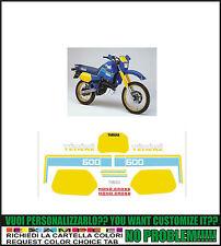 kit adesivi stickers compatibili xt 600 z tenere 1vj 1986