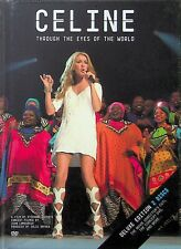 Celine Dion -Through The Eyes Of The World Deluxe Edition 2-DVD (NEW) Live/Film