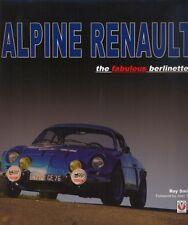 Alpine renault le fabulous berlinettes A110-roy smith-livre-a été £ 75!!!