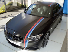 200cm High Quality M Hood Body Roof Decal Sticker For Bmw 1 2 3 4 5 6 M X1 3 5 6