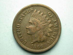 1866 Indian Head Cent #3