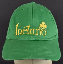 Green Ireland Luck Clover embroidered baseball hat cap adjustable snapback