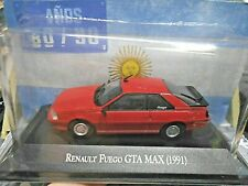 RENAULT Fuego GTA MAX Sport Coupe 1991 red rot Argentina Atlas IXO  SP 1:43