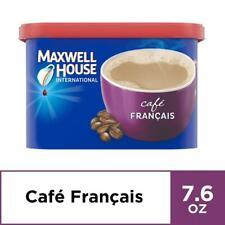 Maxwell House International Cafe Francais 7.6 Ounce (Pack of 4), Multicolor