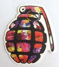 Pegatina/sticker/Autocollant/ Adesivo/ Aufkleber: Grenade Flowers/Granada Floral
