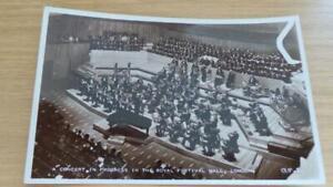 AG1015: Postcard - Festival of Britain 1951 - Concert in Progress Royal Hall