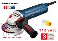 110V Bosch PRO GWS 9-115 AVH 115mm 900W ANGLE GRINDER 060179B062 3165140837101