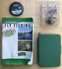 Fly Fishing Accessories: Trail Side Guidr, Umpqua Line, 2 Cases Assotted Fly's