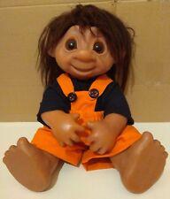 Vintage The DAM 1979 Troll 806 Big size doll rare!