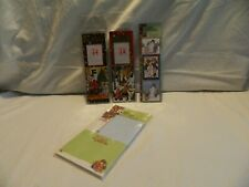 Nwot 2 Mary Engelbreit Christmas Bookmarks, Stickers & Note Pads