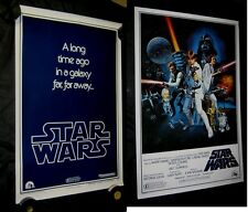 "Original STAR WARS Style C & Style B Advance 1 sheets 27"" X 41"""