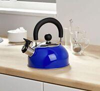 Design Retro Flötenkessel Teekessel Wasserkessel Wasserkocher 0,7 l Pfeifkessel
