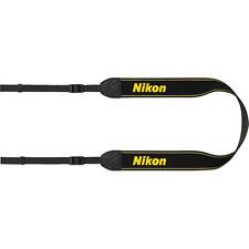Nikon Genuine AN-DC3 Camera Neck Strap for the D3200, D5200, D5300 Camera, Black