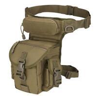 Tactical Military Drop Leg Thigh Bag Pouch Hip Waist Fanny Belt Pack Waterproof