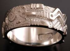 Size 10-1/2  Silver Traveling Arrow Silver Ring band Ray Tracey PS91B-105