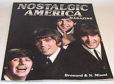 Nostalgic America Magazine: The Beatles on cover 2014         NEW