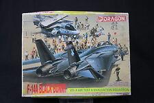 YL038 DRAGON 1/144 maquette avion 4547 F-14A Black Bunny VX-4 Air Test F14A
