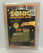 Vintage Sound Sonic Choo Choo Train Keychain Toy Lights Blink 3 Different Sounds