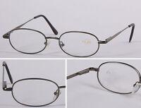 L57 Superb Quality Metal Reading glasses/Spring Hinge/Oval Shape & Comfort Style