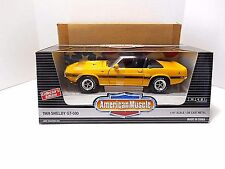 1995  ERTL American Muscle  '1969 Yellow Ford Shelby GT-500'  Die-Cast  1/18